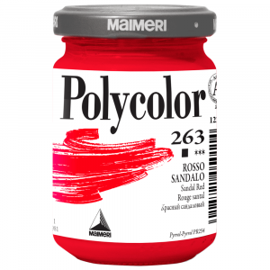 Tinta Acrílica Polycolor Maimeri 140ml 263 Sandal Red