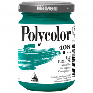 Tinta Acrílica Polycolor Maimeri 140ml 408 Turquoise Blue