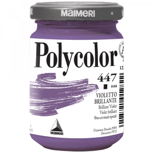 Tinta Acrílica Polycolor Maimeri 140ml 447 Brilliant Violet