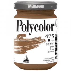 Tinta Acrílica Polycolor Maimeri 140ml 475 Bronze