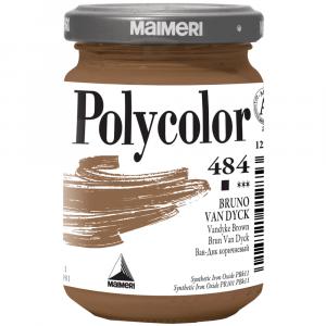 Tinta Acrílica Polycolor Maimeri 140ml 484 Vandyke Brown