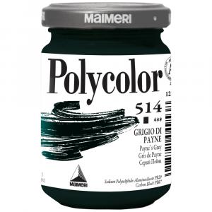 Tinta Acrílica Polycolor Maimeri 140ml 514 Payne's Grey