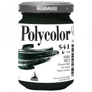 Tinta Acrílica Polycolor Maimeri 140ml 541 Micaceous Black