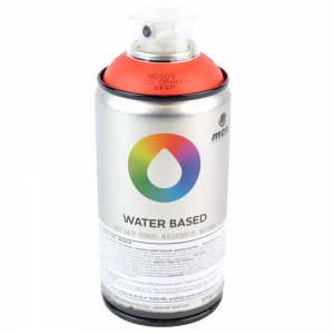 Spray Water Based Laranja Escuro