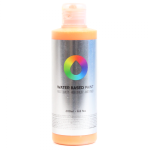 Tinta MTN Water Based Paint RV-105 Azo Orange Light 200 ml