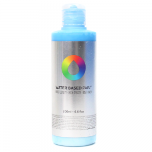 Tinta MTN Water Based Paint RV-29 Phthalo Blue Light 200 ml