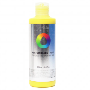 Tinta MTN Water Based Paint RV-1021 Cadmium Yellow Medium 200 ml
