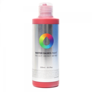 Tinta MTN Water Based Paint RV-3020 Naphthol Red 200 ml