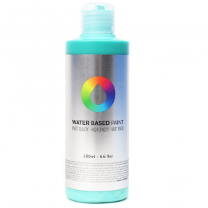 Tinta MTN Water Based Paint RV-219 Turquoise Green 200 ml