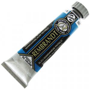 Tinta Óleo Rembrandt 15ml 582 Mang. Blue (Phthalo) - Série 3