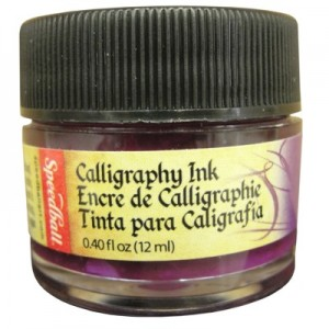 Tinta Para Caligrafia 12ml Speedball 3108 Violeta Intenso