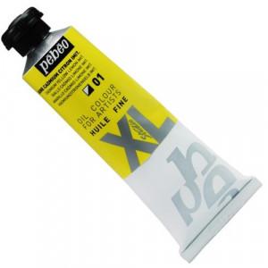 Tinta  a Óleo Pébéo XL Studio 01 Amarelo Limão 37ml