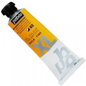 Tinta  a Óleo Pébéo XL Studio 03 Amarelo Cadmio Escuro 37ml
