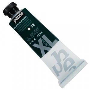 Tinta  a Óleo Pébéo XL Studio 18 Verde Esmeralda Phtalo 37ml