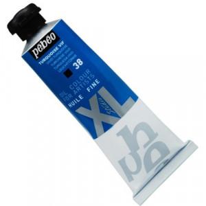 Tinta  a Óleo Pébéo XL Studio 38 Azul Turquesa 37ml