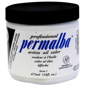 Tinta Óleo Profissional Permalba Super Branco 473ml