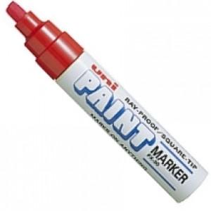 Caneta Permanente Uni-Paint Marker PX-30 Vermelha