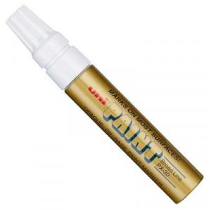 Caneta Permanente Uni-Paint Marker PX-30 Ouro
