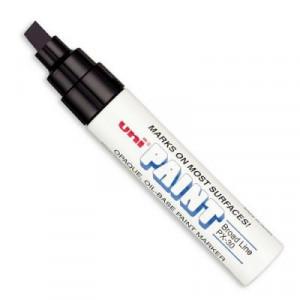 Caneta Permanente Uni-Paint Marker PX-30 Preto