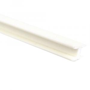 Vareta de PVC Formato H Para Encaixe 02 x 1000 mm
