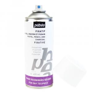 Fixador Spray Para Carvão, Pastel e Lápis Pebeo 400ml