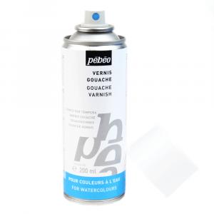 Verniz Spray Para Tinta Guache Pébéo 200 ml