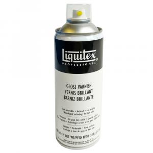 Verniz Spray Profissional Liquitex Brilhante 400ml