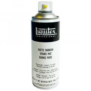 Verniz Spray Profissional Liquitex Fosco 400ml
