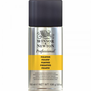 Verniz Spray Para Técnicas Secas Winsor & Newton 150ml (Fixativo)