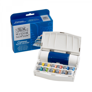 Aquarela Winsor & Newton Cotman Field Plus 12 Cores