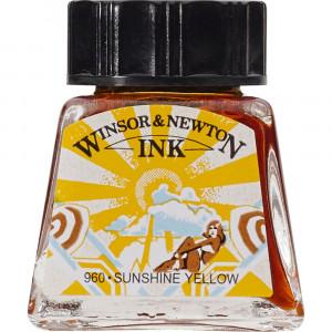 Tinta para Desenho Winsor & Newton 14ml Sunshine Yellow 633