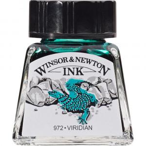 Tinta para Desenho Winsor & Newton 14ml Viridian 692