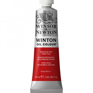 Tinta Óleo Winton 37ml 098 Cadmium Red Deep Hue