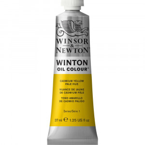 Tinta Óleo Winton 37ml 119 Cadmium Yellow Pale Hue