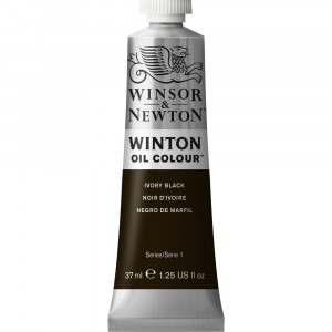 Tinta Óleo Winton 37ml 331 Ivory Black