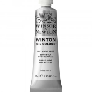 Tinta Óleo Winton 37ml Winsor & Newton 415 Mixing White