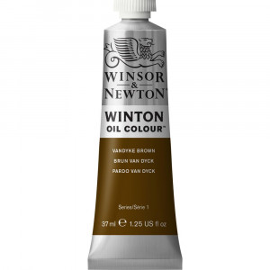 Tinta Óleo Winton 37ml 676 Vandyke Brown