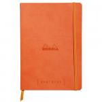 Caderno Goalbook Rhodia A5 90g 120 Folhas Pontilhado Tangerine