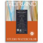 Bloco de Papel Para Aquarela Studio Satinado Fabriano 300g/m² 28x35,6cm 12 Folhas