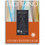 Bloco de Papel Para Aquarela Studio Satinado Fabriano 300g/m² 28x35,6cm 50 Folhas