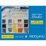 Bloco de Papel Para Aquarela Studio Fabriano GF 300g/m² 27x35cm 75 Folhas