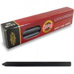 Mina Grafite 5.6mm Curta 2B Extra Grossa - Caixa com 06 Minas