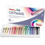Pastel Oleoso Pentel 16 Cores