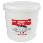 Base Acrílica Transparente PREMIUM Cromacolor 3,6L
