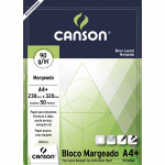 Bloco de Papel Layout Margeado Canson 90g/m² A4