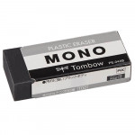 Borracha Mono Tombow Preta Média PE-04AB