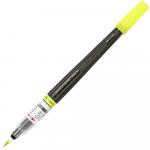 Caneta Pincel Aquarela Color Brush Pentel Yellow 105