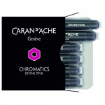 Cartucho Para Caneta Tinteiro Chromatics Caran d'Ache Divine Pink 6 Unidades