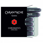 Cartucho Para Caneta Tinteiro Chromatics Caran d'Ache Infra Red 6 Unidades