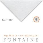 Papel Para Aquarela Fontaine Torchon 56x76cm 300g/m² Clairefontaine (Unidade)